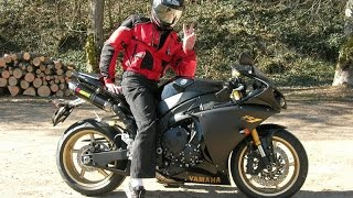 10. Yamaha YZF-R1  -  Motorcycle Composition (TOCE EXHAUST AND ON EXHAUST)