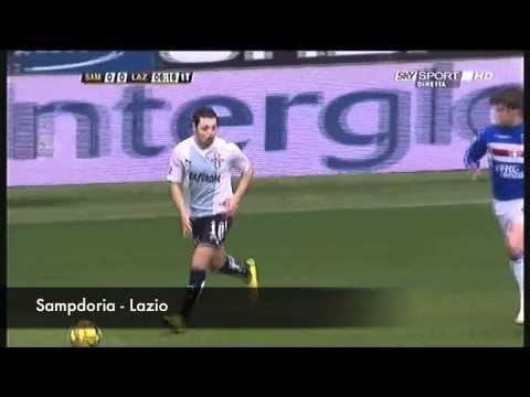Sergio Floccari Lazio i gol del bomber