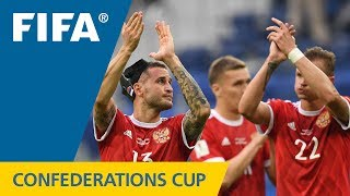 Watch highlights of the match between Russia and New Zealand from the FIFA Confederations Cup 2017 in Russia.