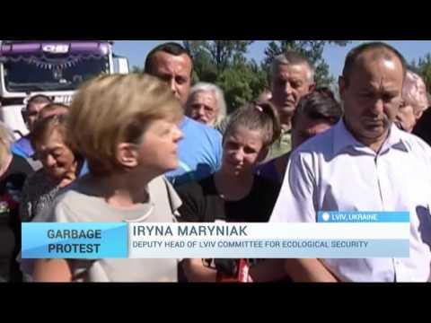Ukraine Garbage Protests: Campaign unfolds in Lviv region at Hrybovychi dumpslide