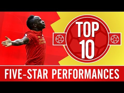 TOP 10: Amazing Five-goal Liverpool FC Wins