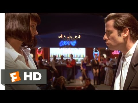 pulp fiction - Pulp Fiction Movie Clip - watch all clips http://j.mp/xrvP0G click to subscribe http://j.mp/sNDUs5 Mia Wallace (Uma Thurman) convinces Vincent Vega (John Tra...