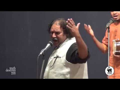 Video Sambhaji Bhagat & Troupe Perform Songs of the Masses | Mumbai Collective 2017 download in MP3, 3GP, MP4, WEBM, AVI, FLV January 2017