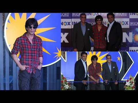 Shah Rukh Khan Inaugration Of Brand New Inox At R City Mall