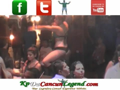 Cancun Summer Break 2013 NightClub Prowl Part XXXVIII