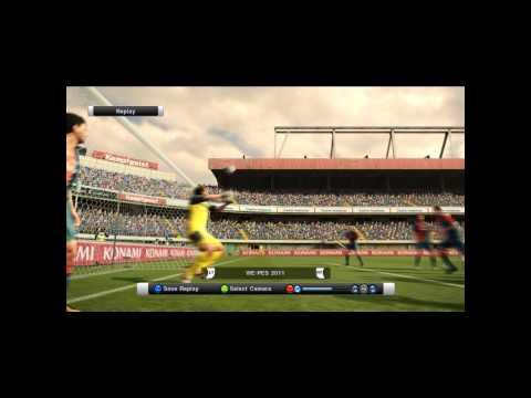 PES 2011 epic fail by a goalkeeper