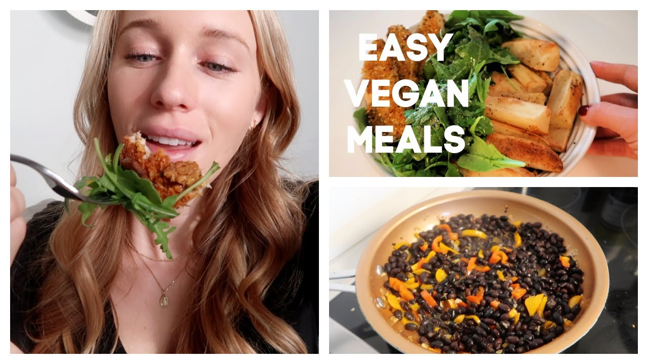EASY VEGAN MEAL IDEAS | What I Ate Today