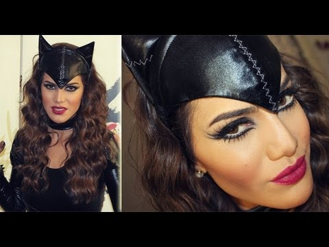 Maquiagem para o Halloween: Cat woman!