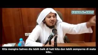 Nabi Shallallahu'alaihiwasallam Menangis Karena Kamu