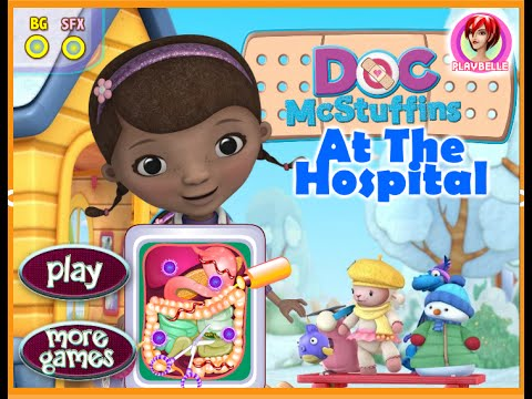 Disney Junior Games Doc McStuffins -  Doc McStuffin Hospital Game For Kids