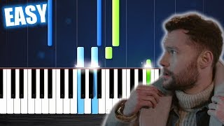 Calum Scott - You Are The Reason - EASY Piano Tutorial by PlutaX