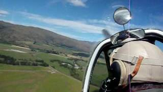 Garston New Zealand  city images : P51 mustang flight wanaka to mandeville new zealand: kingston to garston