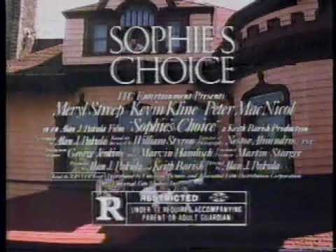 Sophie's Choice 1983 TV Spot