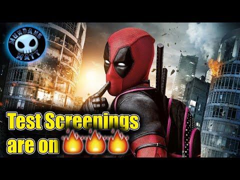 DEADPOOL 2 test screenings outscore original (видео)