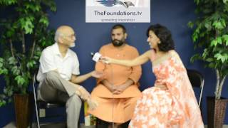 Swami Vigyanand ji speaks to The Foundations TV