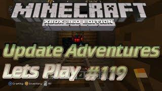 Minecraft Xbox 360 TU11 #119 -  Redstone Trap and Hidden Door