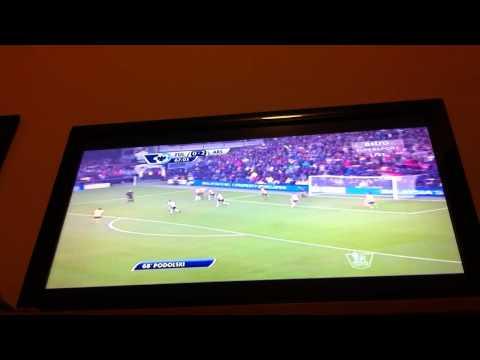 Fulham vs Arsenal All Goals 24/8/13