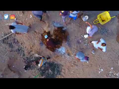 Video: Watch traditional Omani shuwa being buried on Eid Al Fitr