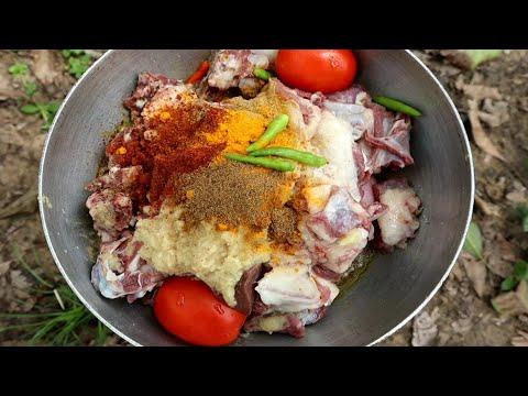 Enjoying Mutton Feast With My friends | Mutton dumpukht Style