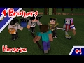 Kedatangan Herobrine - 4 Brothers Vs Enemy Eps 1- Minecraft Animation Indonesia #4