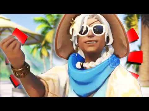 Reddit funny - Overwatch - *NEW* ANA LEGENDARY SKIN + New Summer Game Modes Made by Fans