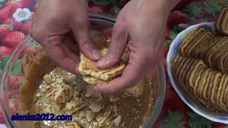 Торт Муравейник можно приготовить из печенья за 10 - 15 минут. В рецепте используются: 700 гр. печенья топлёное молоко 200 гр. грецких орехов 200 гр. сливочн...