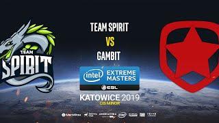Team Spirit vs Gambit - IEM Katowice CIS Minor - map1 - de_mirage [Craggy & Pchelkin]