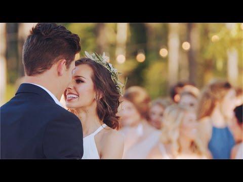 Boho Wedding // Ashley & David (видео)