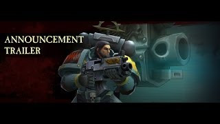 Warhammer 40,000: Space Wolf Accouncement Trailer