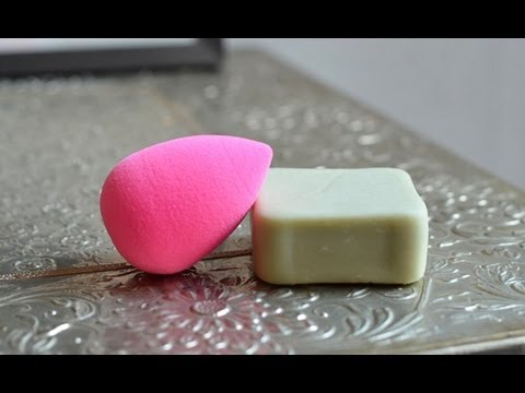 beaute Comment nettoyer un Beauty Blender maquillage