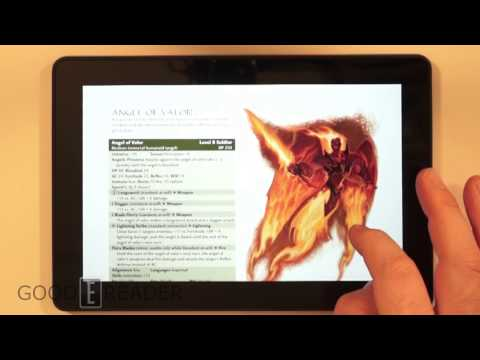 Amazon Kindle Fire HDX 7 PDF Experience