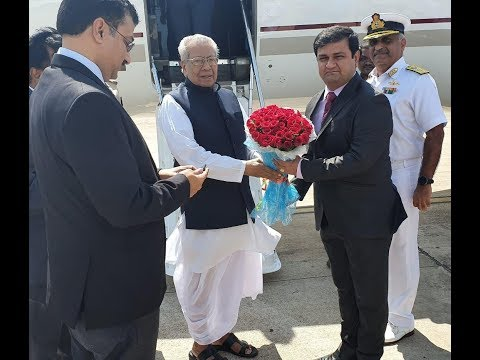Governor of AP Sri Biswabhushan Harichandan Arrives Airport, in Visakhapatnam,Vizag Vision...