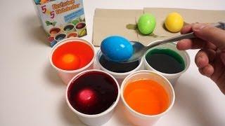 DIY Đồ chơi trẻ em, Bộ nhuộm màu trứng Phục Sinh, mới lạ cho trẻ em và người lớn Easter eggs, also called Paschal eggs,[1] are...