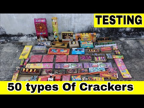 50 types of Crackers Testing 2019 | Diwali Stash Testing 2019 | Crackers Testing 2019 | Patake