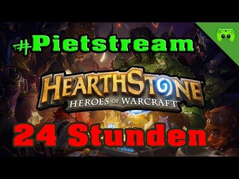 Hearthstone Schwarzfels Woche 2 #PietStream - Mit Jay «» 24 Stunden #9