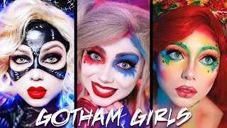 "A compilation of my Harley Quinn, Poison Ivy, and Catwoman makeup tutorials! Thumbs up and leave a comment below if you want to see more DC Comics / Batman makeup transformations and tutorials! Shine Like Stars! - Charisma StarWant to know me more? Come hang out with me:SNAPCHAT: ""Charisma.Star""PERISCOPE: ""CharismaStar""FACEBOOK: http://www.facebook.com/CharismaStarTVTWITTER: http://www.twitter.com/CharismaStarTVCharis' INSTAGRAM: ""CharismaStar""NEW! I have a PO Box (finally)!Charisma Star TVPO Box 55193North Pole, AK 99705FOR BUSINESS INQUIRIES, please email:charismastar@mattermediagroup.com Camera: Sony a7sEditor: Final Cut Pro"