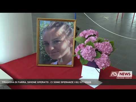 TRAGEDIA DI FARRA, SIMONE OPERATO : CI SONO SPERANZE | 02/07/2020