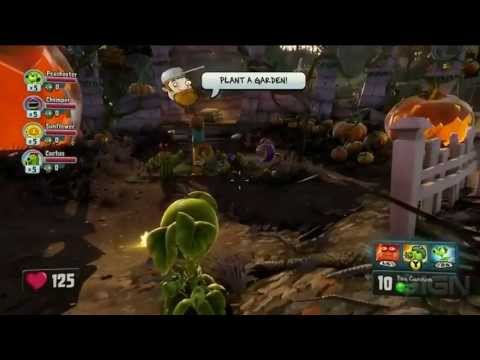 Plants Vs Zombies 2 And Garden Warfare Gameplay Gamecon