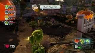 Plants vs. Zombies Garden Warfare Gameplay  E3 2013 EA Conference