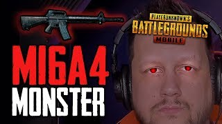 Video BE A MONSTER WITH THE M16 in PUBG Mobile! MP3, 3GP, MP4, WEBM, AVI, FLV Juli 2018