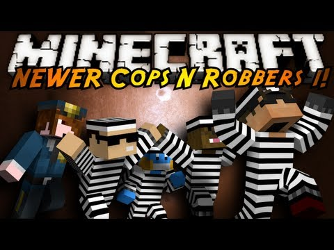 Minecraft Mini-Game : COPS N ROBBERS 3.0 ROUND ONE!