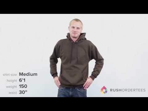Hanes P170 | ComfortBlend EcoSmart 50/50 Pullover Hood | RushOrderTees