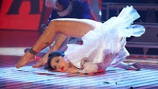 Contortionist Twisting Body During A Spooky Performance - Britain's Got Talent 2012