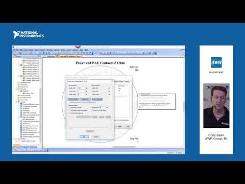 NI AWR Design Environment V14: Network Synthesis PA Example