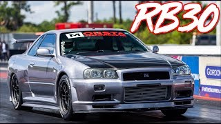 Boosted Miata Surprises RB30 R34   2JZ Lexus   Sequential R33 GTR by  That Racing Channel