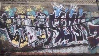 Northside Chicago Graffiti: Redline Rooftops pt. 1