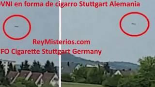 Interesante video grabado por un testigo que querido mantener el anonimato una misteriosa nave flotando en el cielo mientras se dirigia a Frankfurt ver partido de fútbol en el estadio. ver la Noticia  http://www.reymisterios.com/videos/ovnis/Alemania/Ovni-en-forma-de-cigarro-Stuttgart-l1508.html
