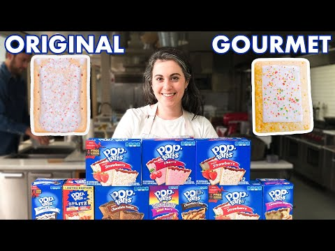 Pastry Chef Attempts to Make Gourmet PopTarts