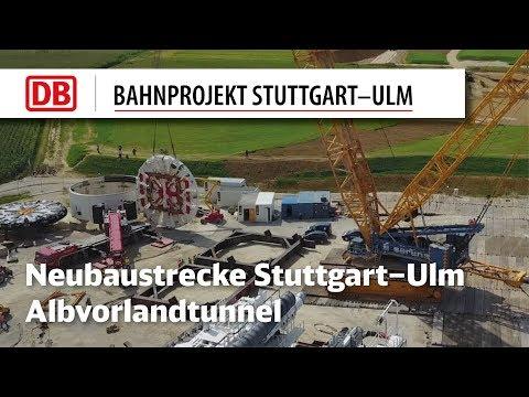 Albvorlandtunnel: Zusammenbau der...