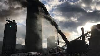 Download Lagu Gilberton Coal Company Silo and Conveyor Belt Fire Mp3